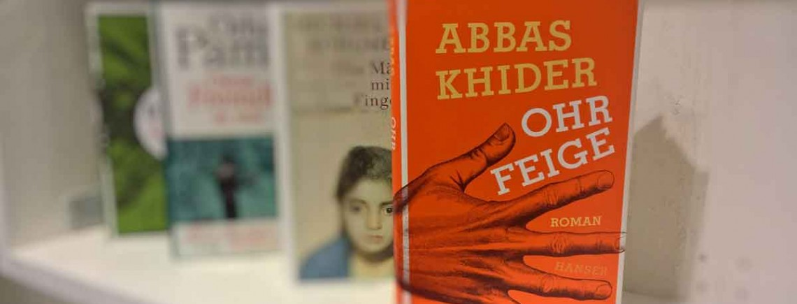 """Ohrfeige"" – Abbas Khider"