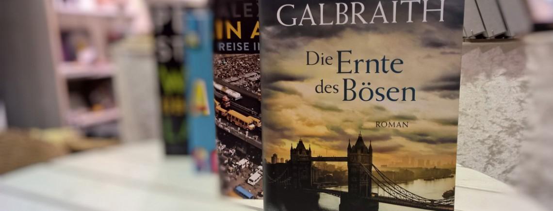 """""""Die Ernte des Bösen"""" – Robert Galbraith"""