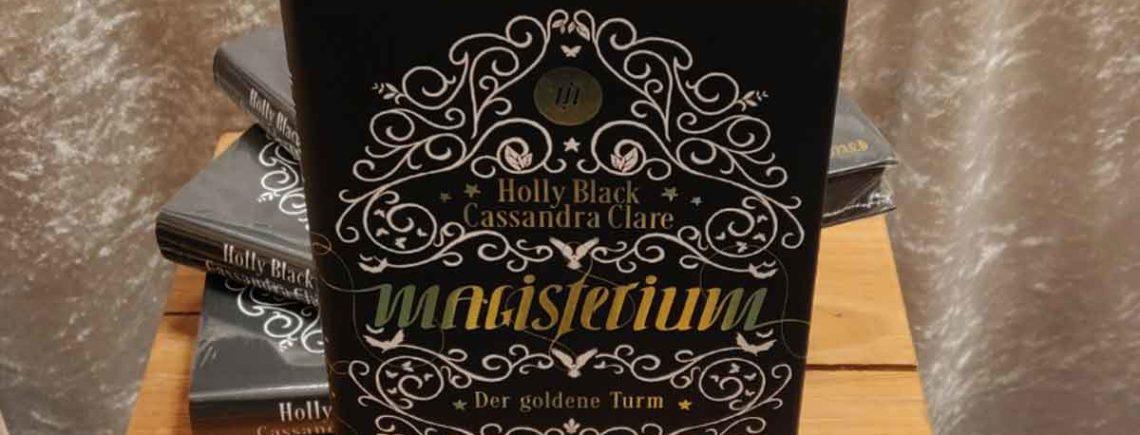 """""""Magisterium – Der goldene Turm"""" – Clare/Black"""